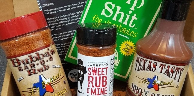 Grill Masters Club Subscription Box Review & Coupon – April 2016
