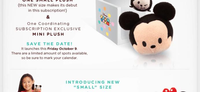 April 2016 Disney Tsum Tsum Box Spoilers!