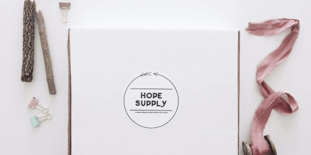 Hope Supply Box 2017 Subscriptions Now Available!