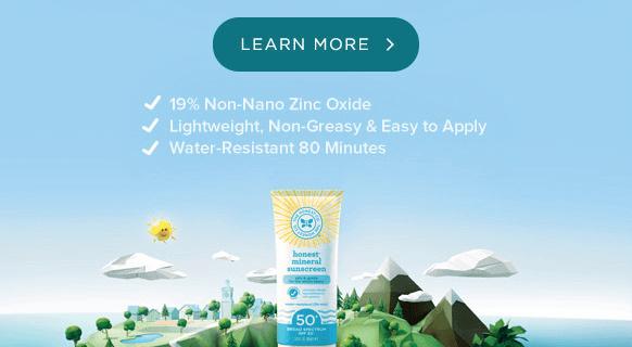 Honest Sunscreen Relaunches – SPF50+, 19% NN Zinc Oxide