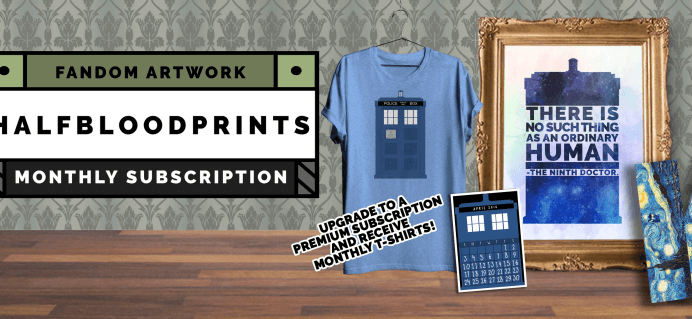 Half Blood Prints July 2016 Full Spoilers & Coupon – Narnia!