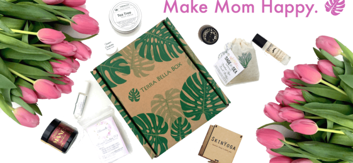 50% Off First Terra Bella Box in 3+ Month Subscriptions!