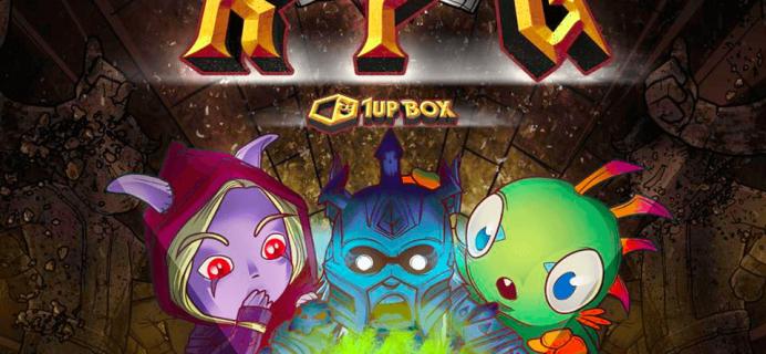 May 2016 1Up Box Spoilers: RPG + Coupon!