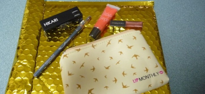 Lip Monthly April 2016 Review & Coupons