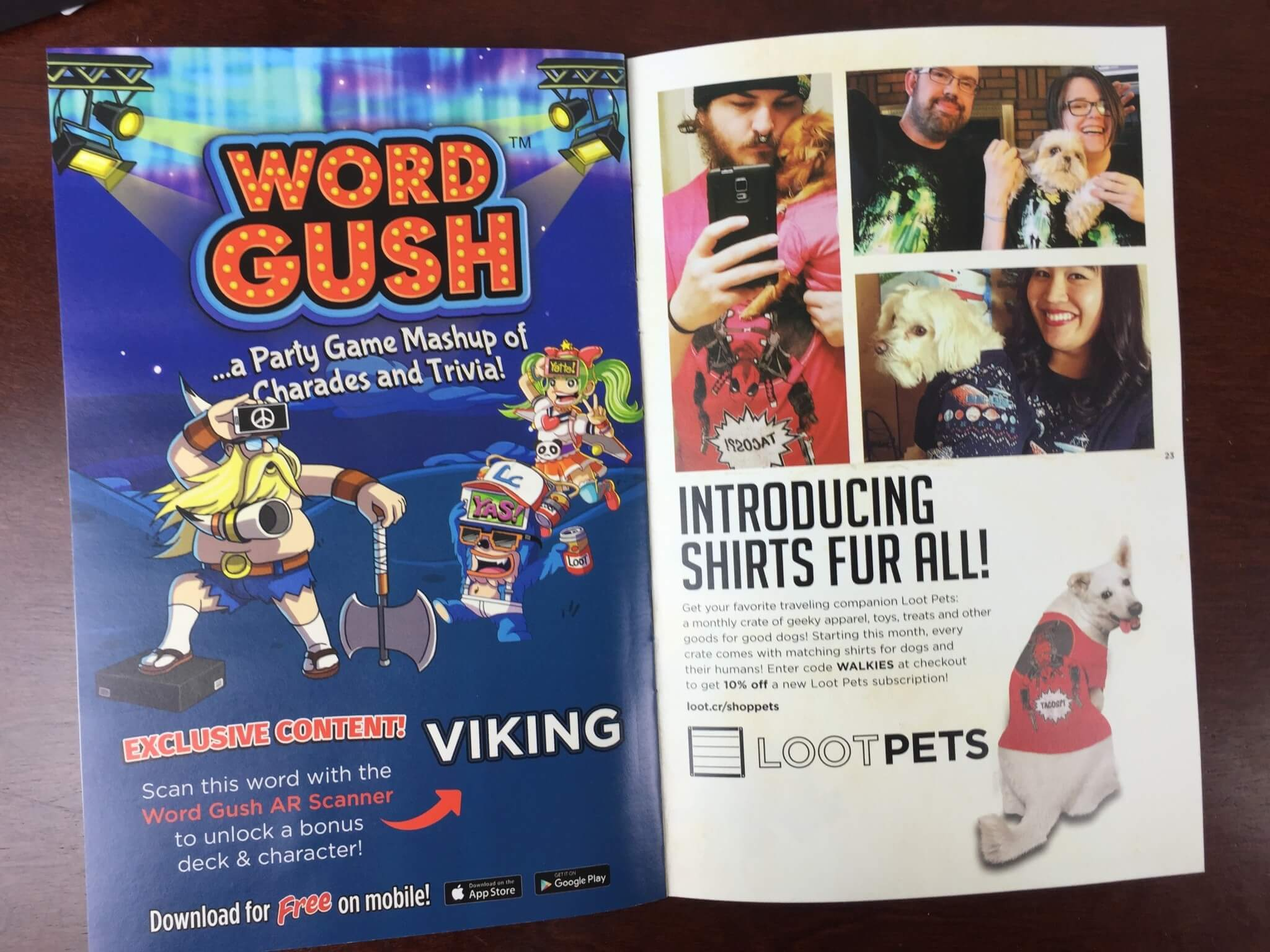 Loot Crate April 2016 Review Coupons – QUEST