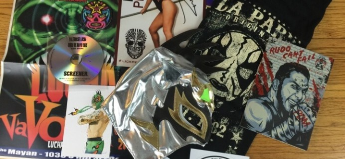 Lucha Loot Subscription Box Review & Coupon – April 2016