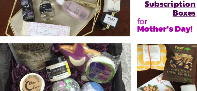 Subscription Box Substitutes for Mother's Day Flowers