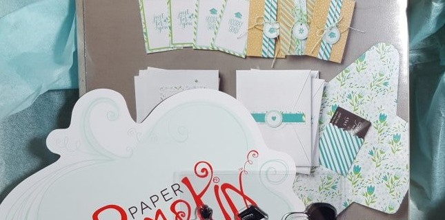 Paper Pumpkin March 2016 Subscription Box Review – Sign Up by 4/10 for Free Extra Stamp!