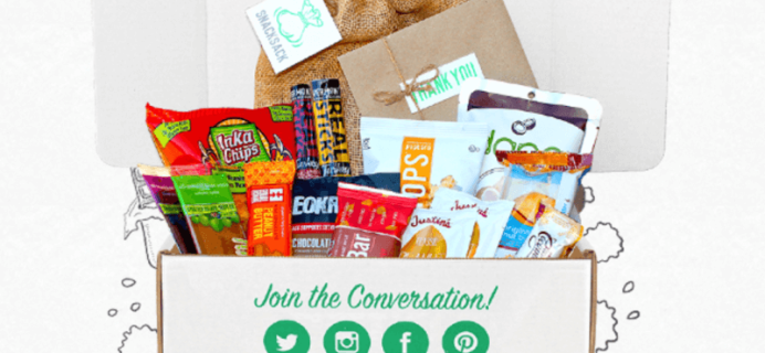 Snack Sack Flash Sale – 50% Off First Box – Tonight Only!