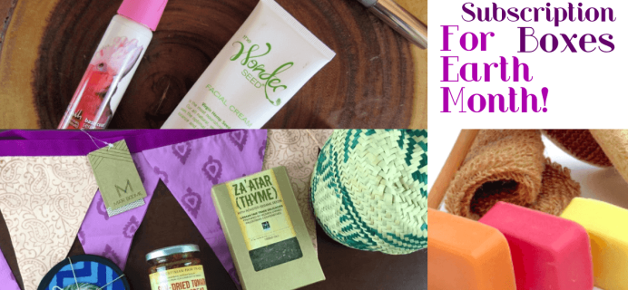 11 Best Subscription Boxes for Earth Month!