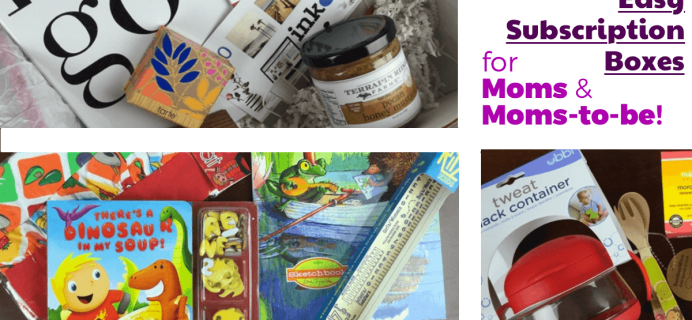 7 Easy Monthly Subscription Boxes For Moms & Moms-to-Be!