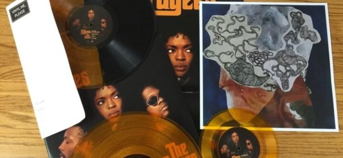 Vinyl Me, Please Subscription Box Review – April 2016