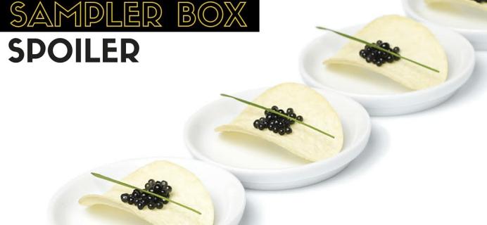 Yummy Bazaar May 2016 Sampler Box Spoiler!