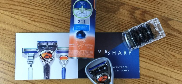 Gillette Shave Club Subscription Box Review – May 2016 Fusion ProGlide