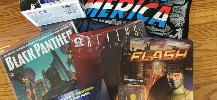 Comic Block Subscription Box Review & Coupon – April 2016