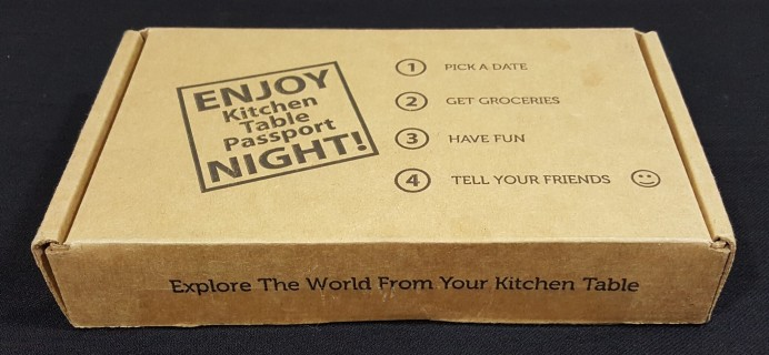 Kitchen Table Passport Subscription Box Review & Coupon – Philippines