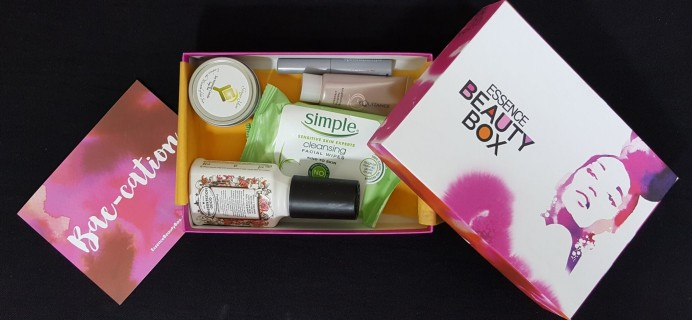 Essence Beauty Box May 2016 Subscription Box Review + Coupon