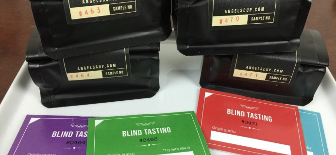 Angels' Cup Black Box Coffee Subscription Review & Coupon – May 2016