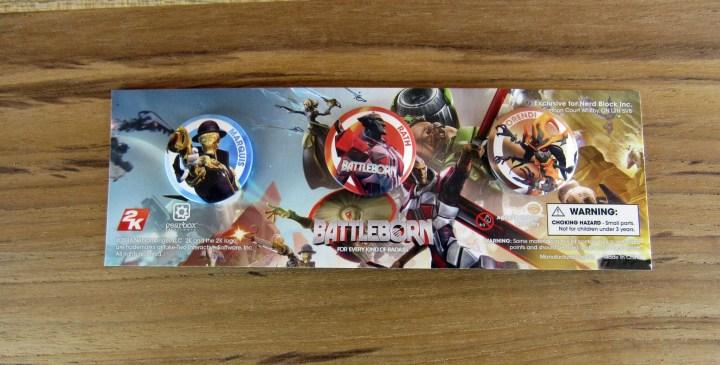 Exclusive Battleborn Buttons 3-Pack