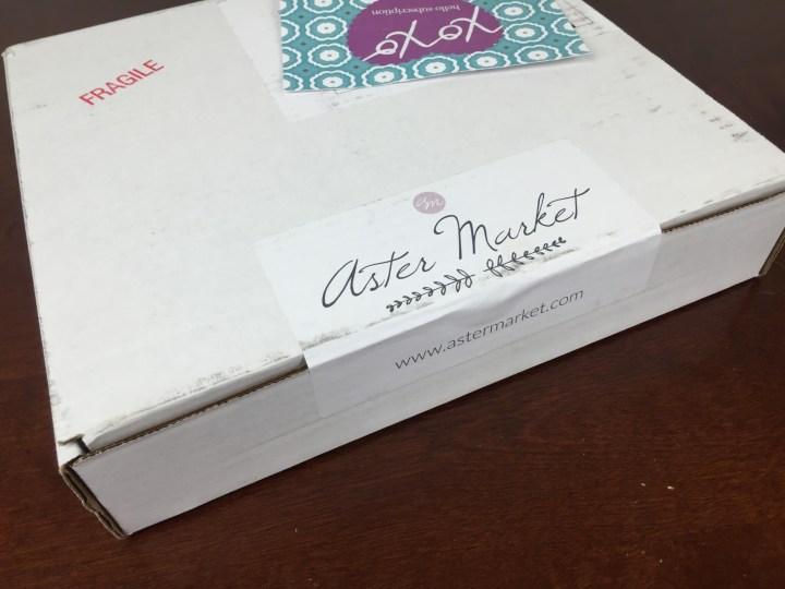 Aster Market Box May 2016 box