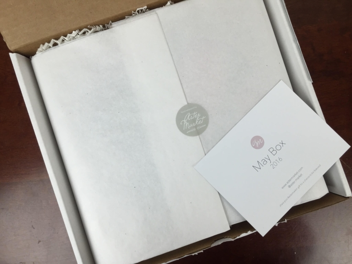 Aster Market Box May 2016 unboxing