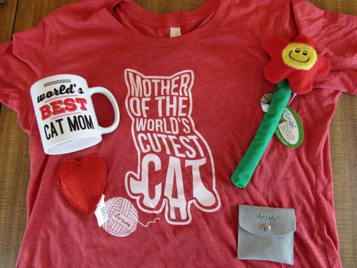 Crazy Cat Lady Box May 2016 - Cat Mom's Day