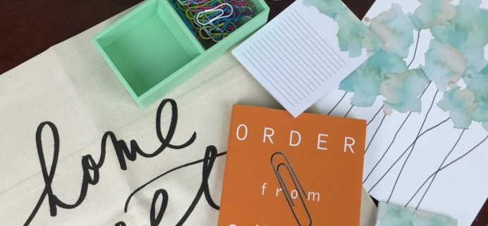 Covet Crate May 2016 Subscription Box Review + Coupon