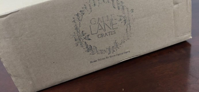 Gable Lane Crates Review – May 2016 Sow & Gather Box