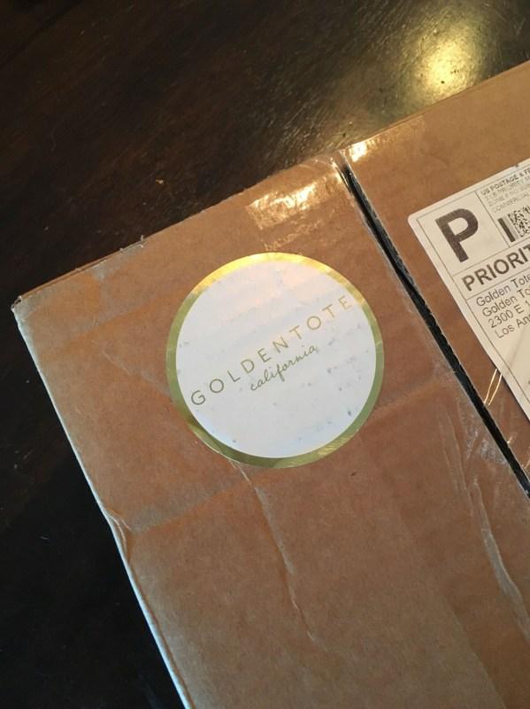 Golden Tote $149 May 2016 box