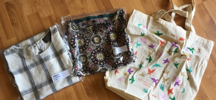 May 2016 Golden Tote Subscription Box Review – $59 Tote