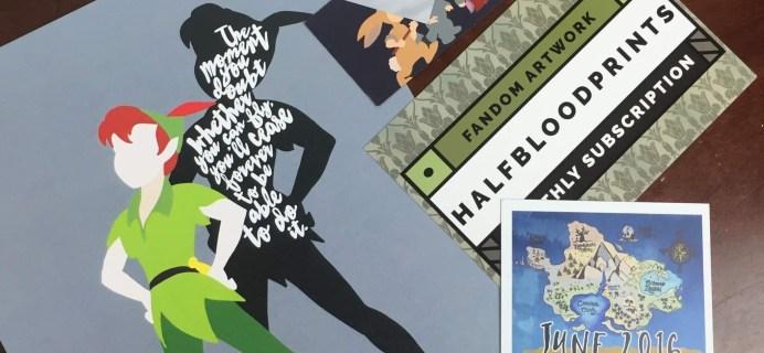 HalfBloodPrints May 2016 Subscription Box Review + Coupon
