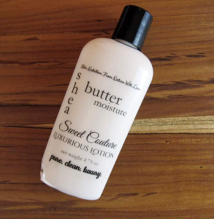 Shea Butter Sweet Couture Luxurious Lotion