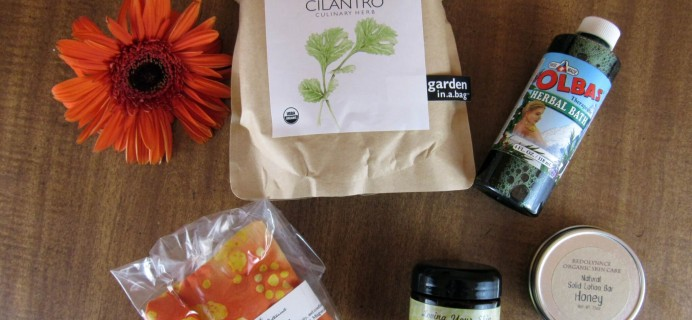 Herbal Bliss Subscription Box Review – May 2016