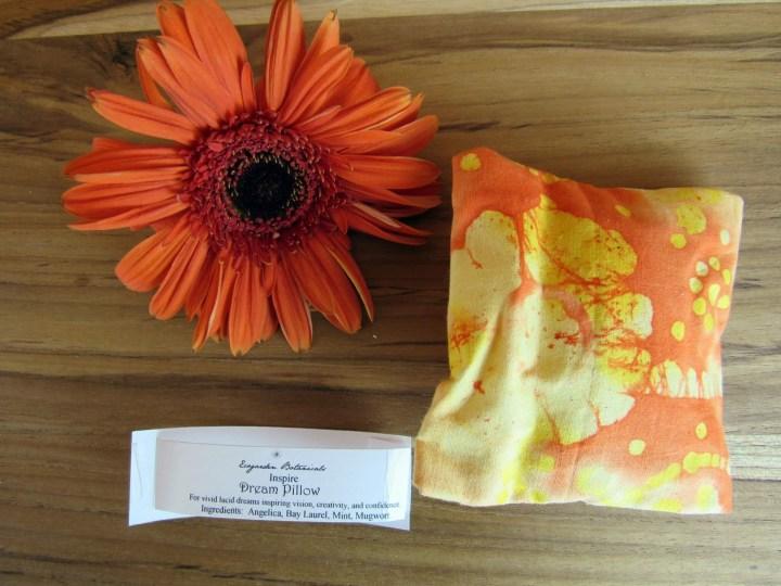 "Ecogarden Botanicals Herbal Dream Pillow ""Inspire"""