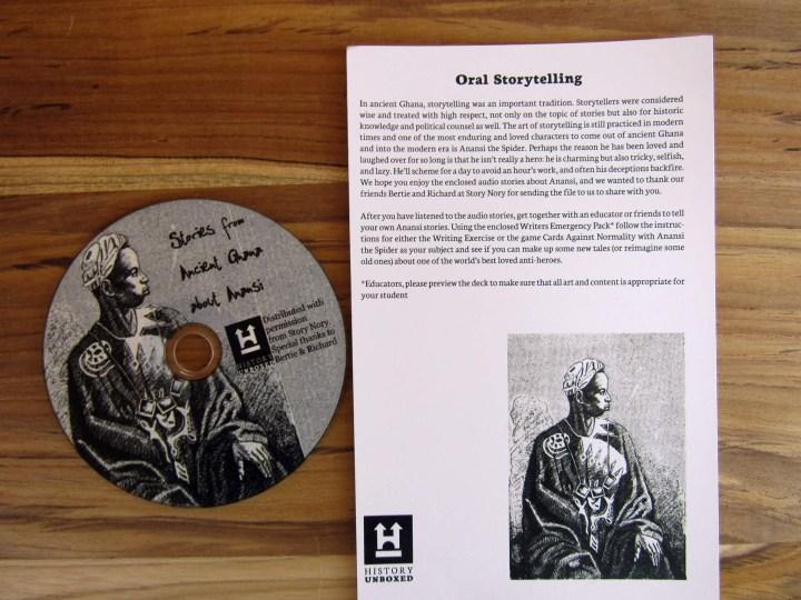 Craft 2 - CD of Anansi Stories