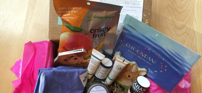 Ecocentric Mom April 2016 Subscription Box Review & Coupon – Mom & Baby Box
