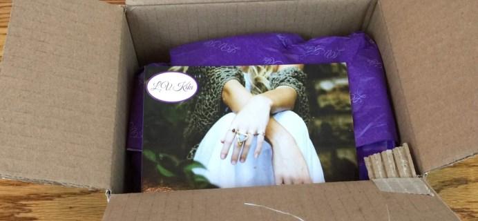 L.V. Kiki Subscription Box Review + Coupon – May 2016