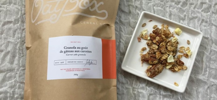 OatBox June 2016 Subscription Box Review & Coupon