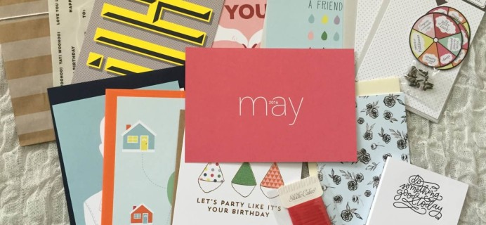 Studio Calico Stationery Kit May 2016 Subscription Box Review