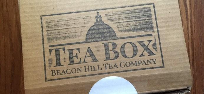 Beacon Hill Tea Company Tea Box May 2016 S