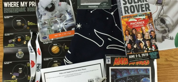 Supply Pod June 2016 Subscription Box Review & Coupon