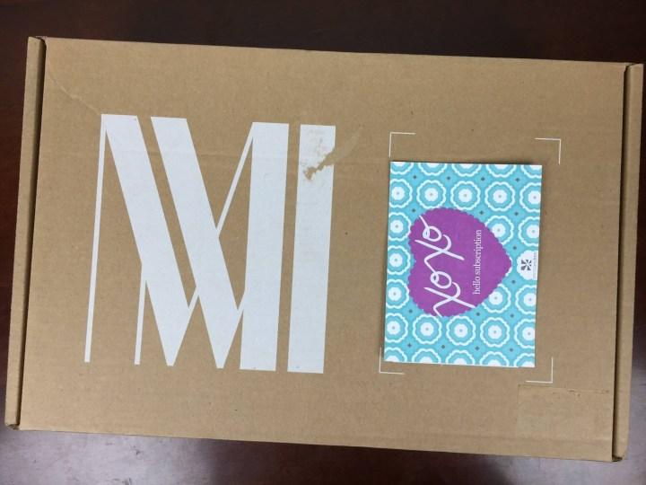 MM LaFleur Box May 2016 box (2)