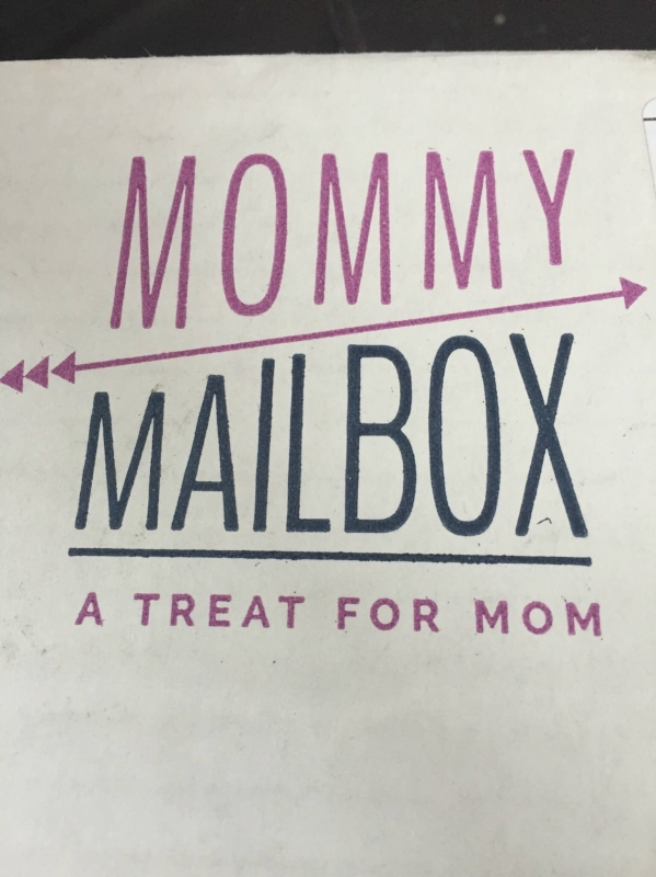 Mommy Mailbox May 2016 box
