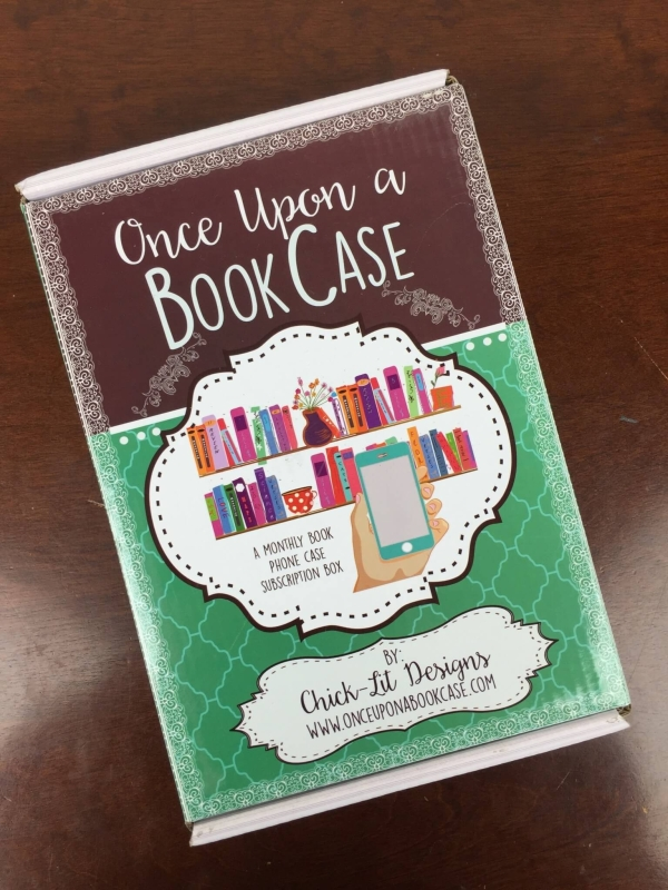 Once Upon a Bookcase May 2016 box