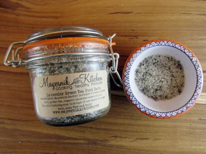 Mayernick Kitchen Lavender Green Tea Foot Bath