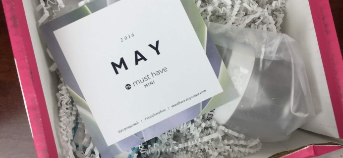 May 2016 POPSUGAR Must Have Mini Subscription Box Review