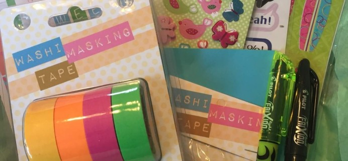 Planner Packs Subscription Box Review & Coupon – May 2016