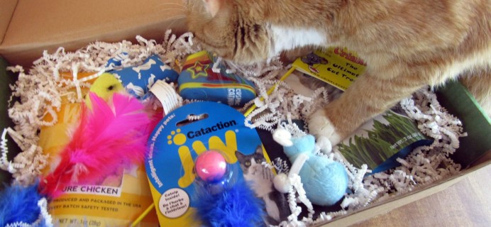 Purr-Packs May 2016 Subscription Review & Coupon – Fun and Love Size