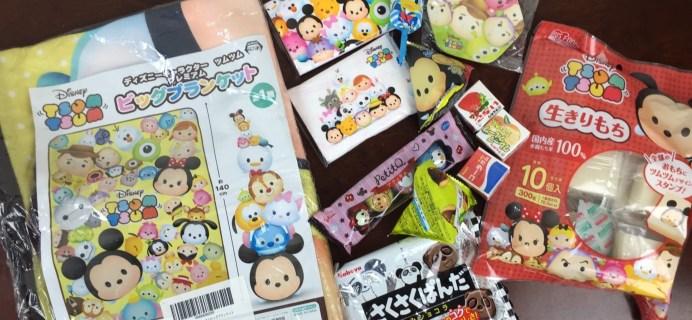 TokyoSweetBox May 2016 Mystery Box Review + Coupon – Tsum Tsum Premium Box!