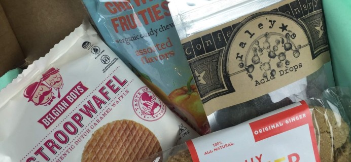 Treatsie May 2016 Subscription Box Review + Coupons